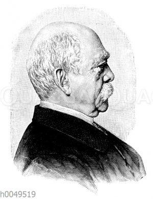 Otto von Bismarck, 205. Geburtstag (1. April 1815)