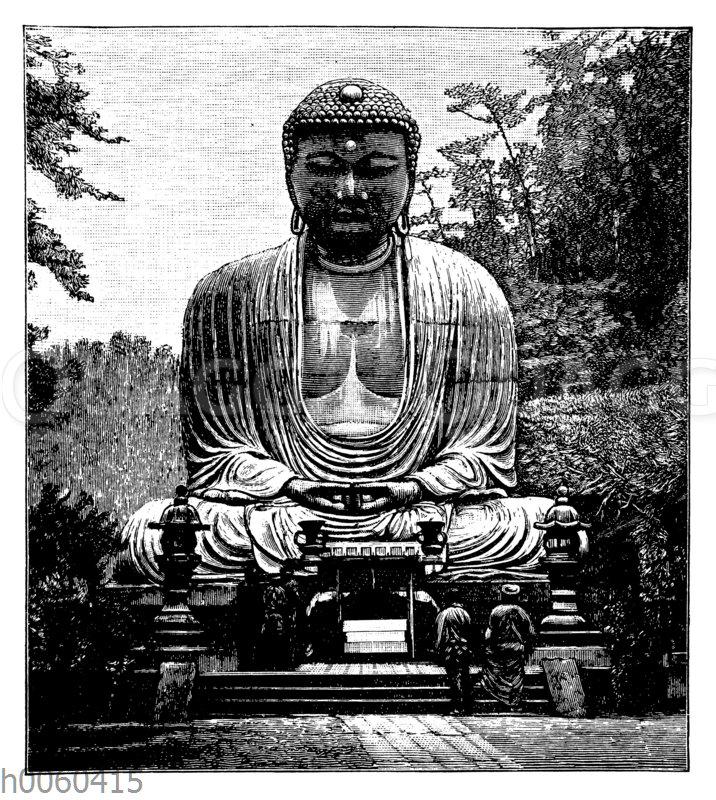 Buddha-Statue in Kamakura