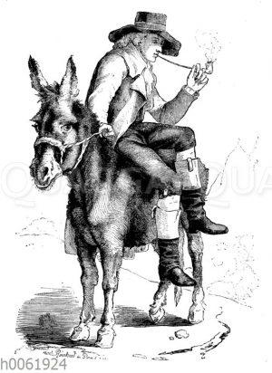 Schiller in Karlsbad 1791 (im 32. Lebensjahre)