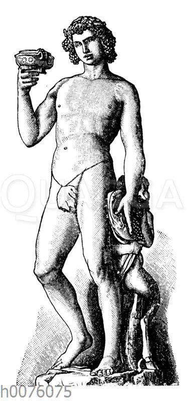 Bacchus von Michelangelo