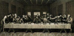 Das Heilige Abendmal von Leonardo da Vinci