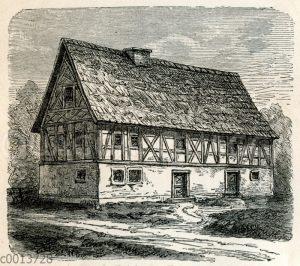 Bauernhof, Bauernhaus