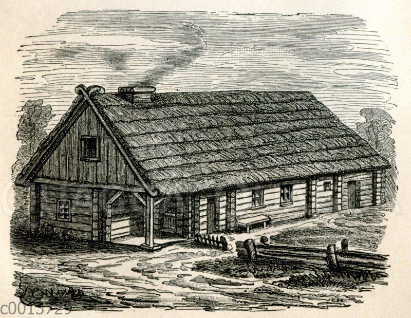 Hinterpommersches Bauernhaus