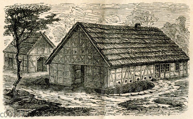 Westfälisches und sächsisches Bauernhaus