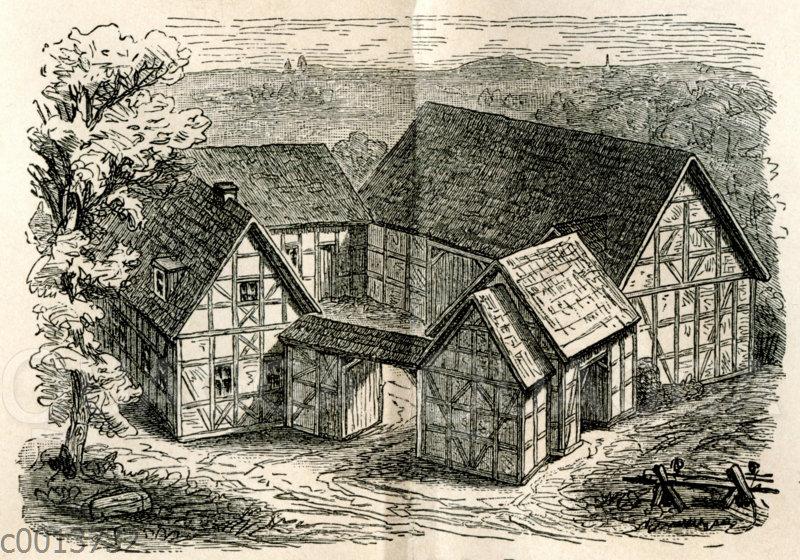 Thüringisch-fränksicher Bauernhof
