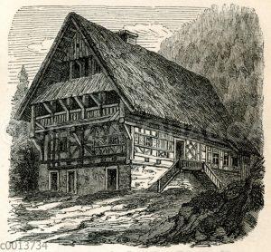 Oberdeutsches Bauernhaus (Schwarzwald)