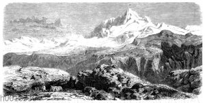 Gauri Sankar im Himalaya-Gebirge