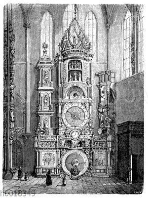 Astronomische Uhr des Straßburger Münsters