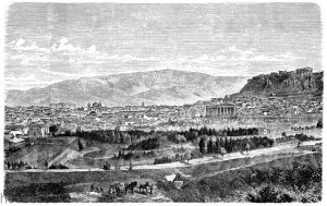 Athen um 1900