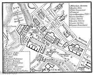 Forum Romanum und Umgebung