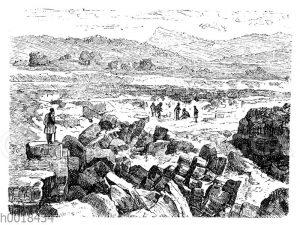 Ausgrabungsfeld von Olympia