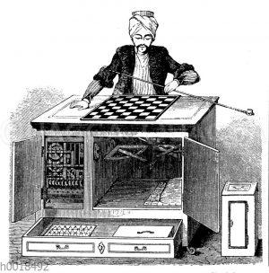 Schachautomat von Wolfgang von Kempelen