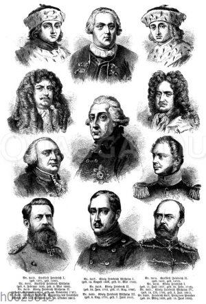 Preußische Herrscher