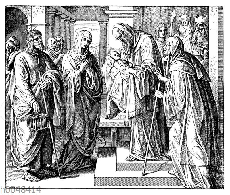 Die Darstellung im Tempel