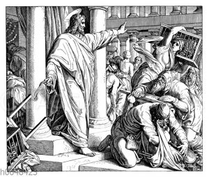 Jesus reinigt den Tempel