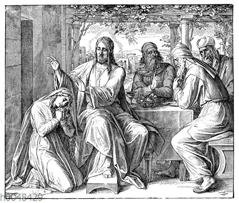 Jesus und die Sünderin