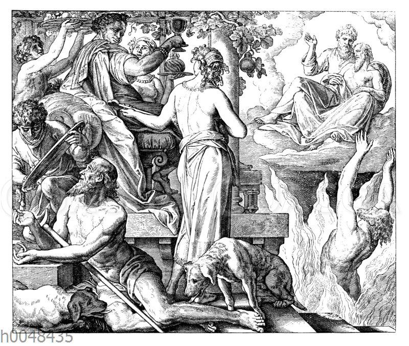 Der reiche Mann und der arme Lazarus