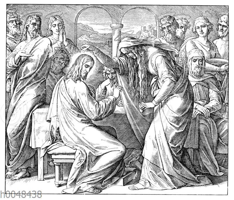 Christi Salbung zu Bethanien
