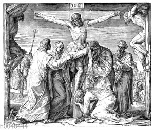 Jesu Tod am Kreuze