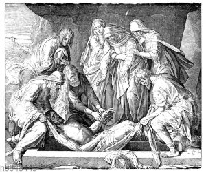 Christi Grablegung