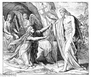 Der Auferstandene erscheint Maria Magdalena