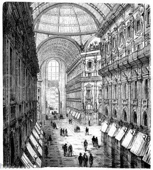 Galerie Vittorio Emanuele in Mailand