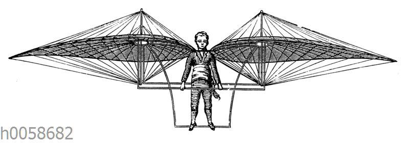 Flugapparat von Jakob Degen