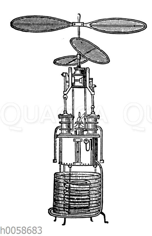 Schraubenflieger von de Ponton d'Amécourt