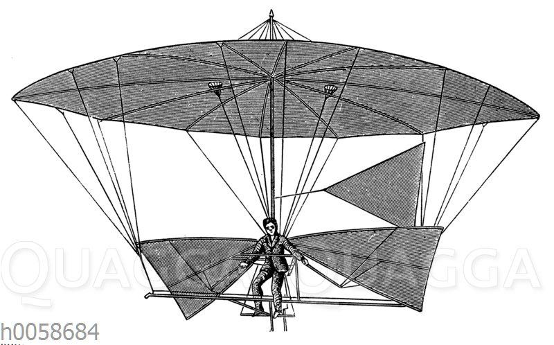 Fallschirmapparat von Letur