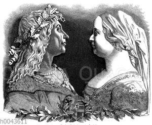 König Matthias und Beatrice