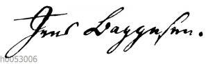 Jens Baggesen: Autograph