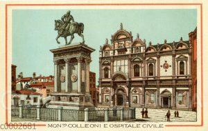 Venedig: Mont Colleoni E Ospitale Civile