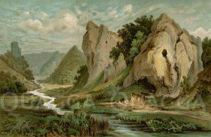 Höhle Hohlefels im schwäbischen Achtal