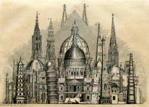 Höhen berühmter Bauwerke im Vergleich