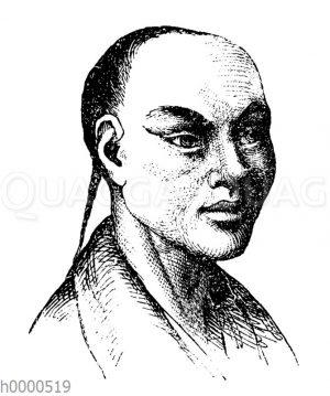 Porträt eines Chinesen