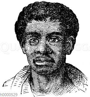 Porträt eines Malayen