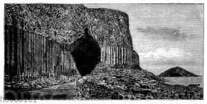 Basalt: Fingalshöhle auf der Insel Staffa