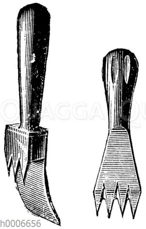 Werkzeuge zum Zerkleinern des Eises