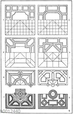 Felderteilungen des Quadrate