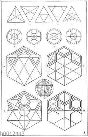 Dreieck und Sechseck