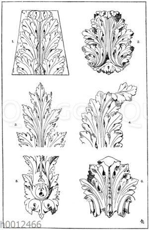 Akanthusblätter