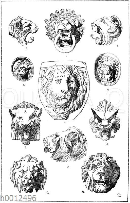 Löwenköpfe