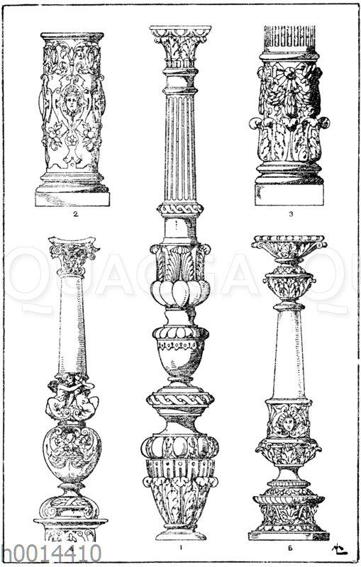 Säulenschäfte