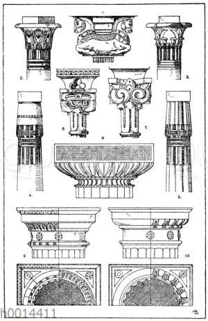Säulenkapitelle