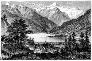 Hochgebirge: Zell am See im Salzburger Land
