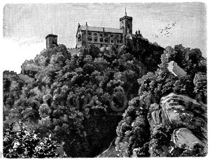 Wartburg in Thüringen
