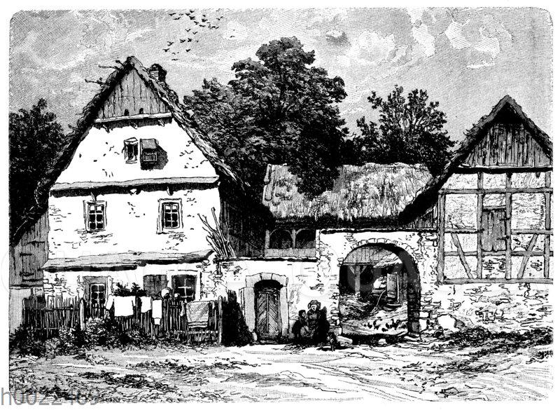Thüringer Bauernhof bei Weimar