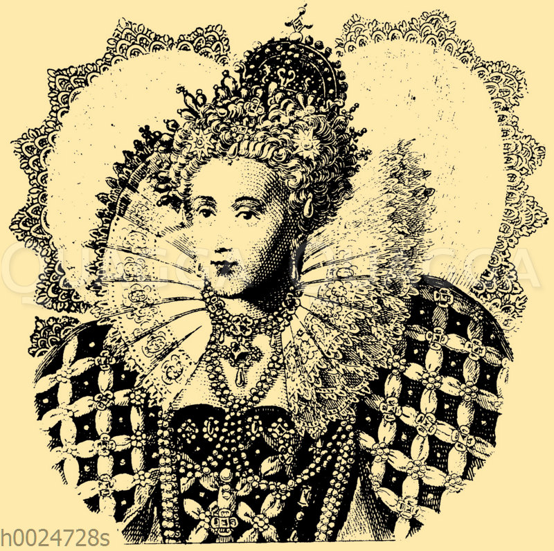 Königin Elisabeth von England um 1600