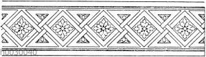 Flechtbänder: Bordüre (Bötticher