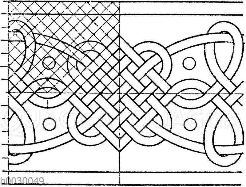 Motiv von der Titelumrahmung eines in Paris gedruckten mathematischen Werkes. Oronce Fine 1544. (Hirth)